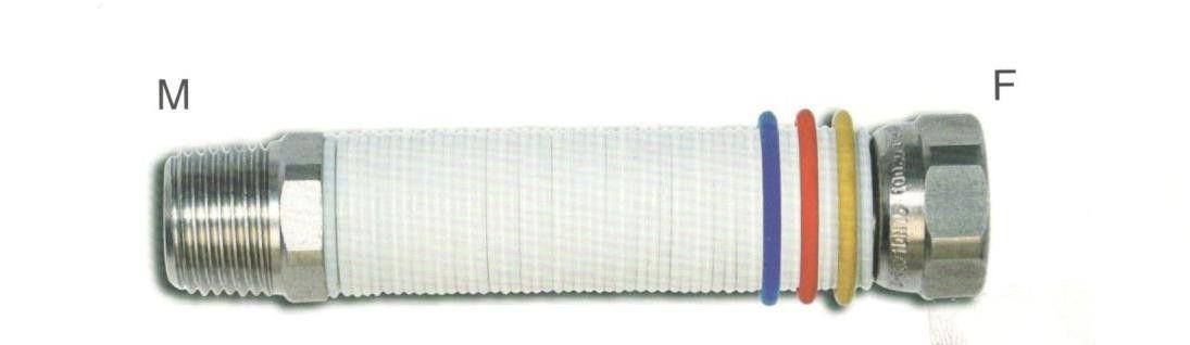 Tubo flessibile inox uniroll da 20 mt 3//4 per acqua