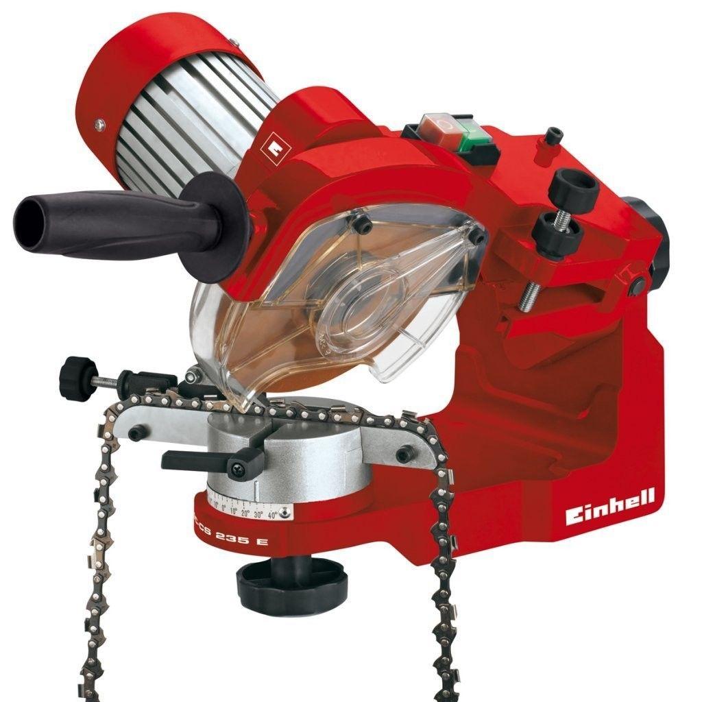 Affilacatene con serraggio automatico della catena GC-CS 235 E EINHELL  4499910  235 W, 3000 Rpm, Rosso/Nero