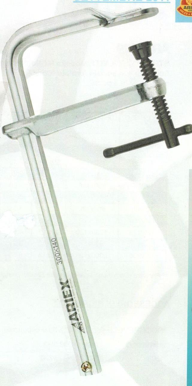 Strettoio a vite mm 250 a F modello carpentiere ARIEX