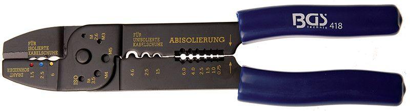 Pinza a crimpare quintupla mm 235 BGS 418