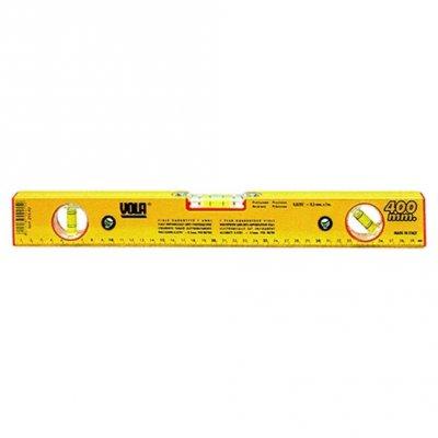 Livella alluminio a 3 bolle regolabile cm 40 VOLA 245