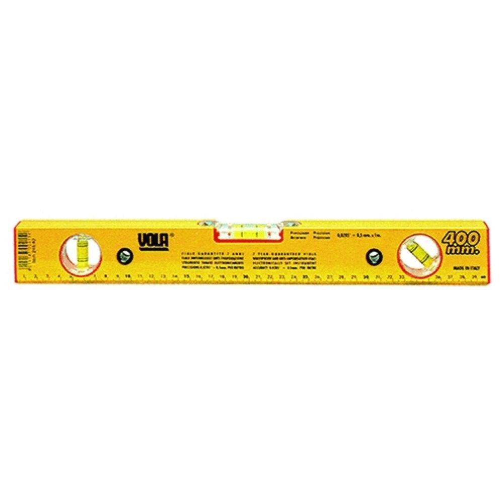 Livella alluminio a 3 bolle regolabile cm 80 VOLA 245