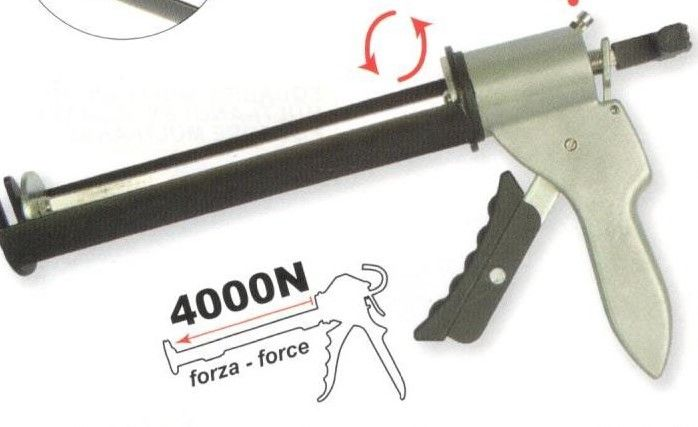 Pistola per silicone forza 4000 N METROPLAST