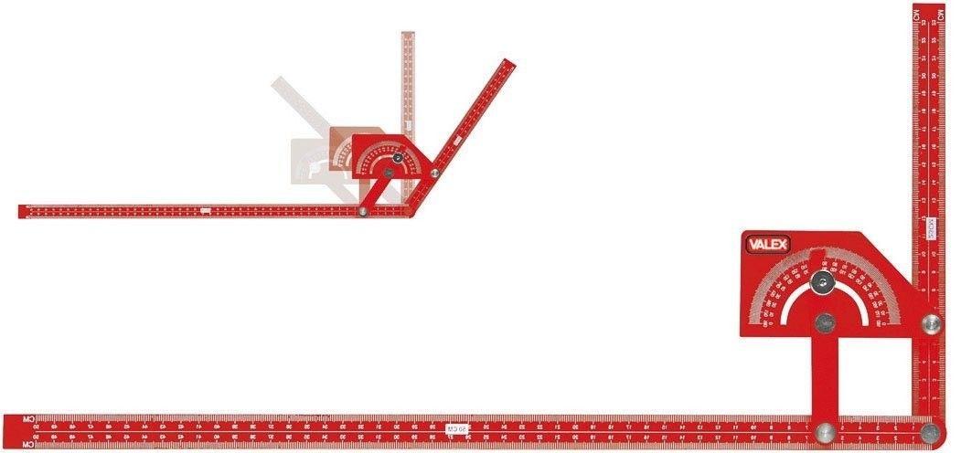 Squadra regolabile con goniometro VALEX 1800709