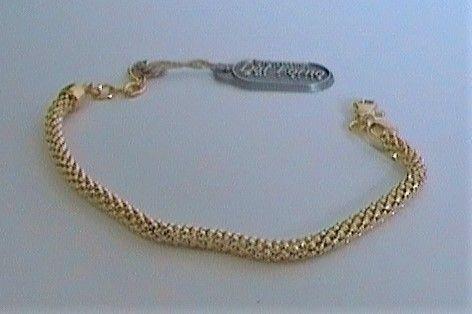 Silver bracciale argento dorato ref. NU15