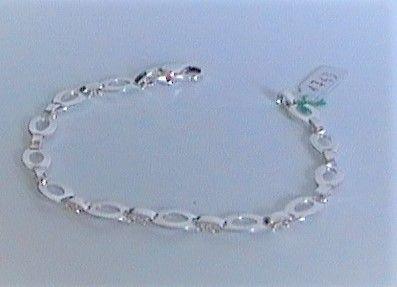 Silver bracciale  ovalini ref. 1743