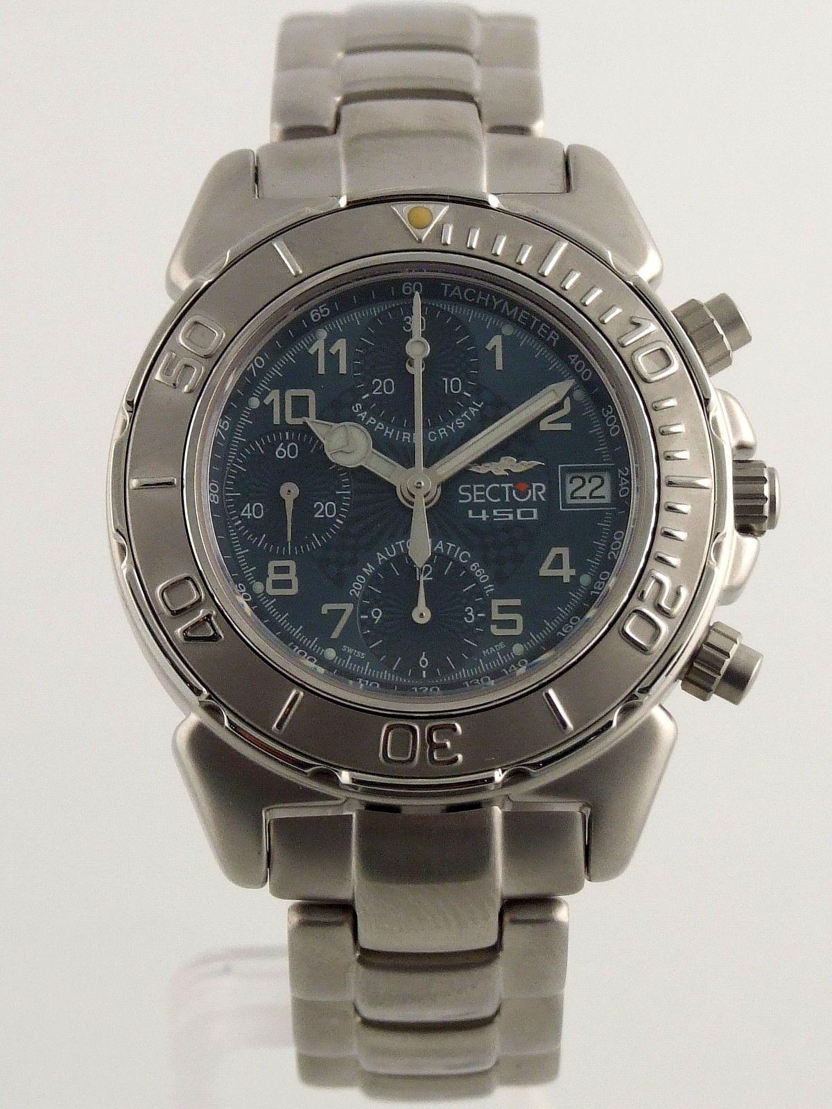 Sector No Limits 450 cronografo automatico ref. 2623950235