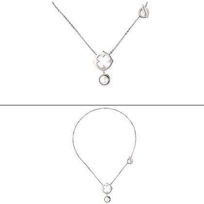 Nomination collana acciaio con perla ref. 023421/004