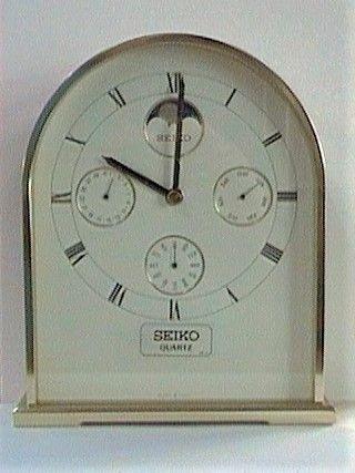 Seiko orologio da tavolo ref. QQZ274E