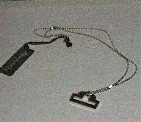 Nomination collana acciaio bilancia ref. 111300/019