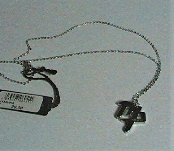 Nomination collana acciaio vergine ref. 111300/018
