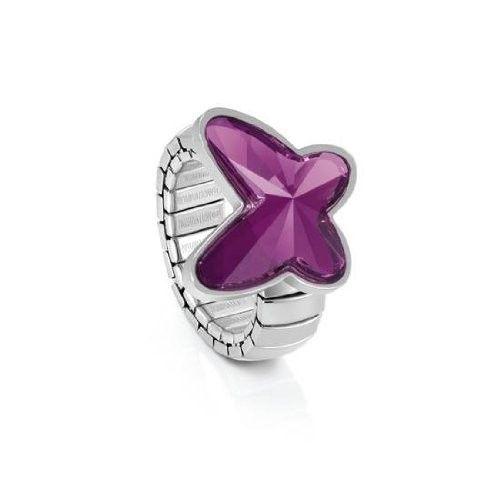 Nomination anello acciaio ref. 021362/001