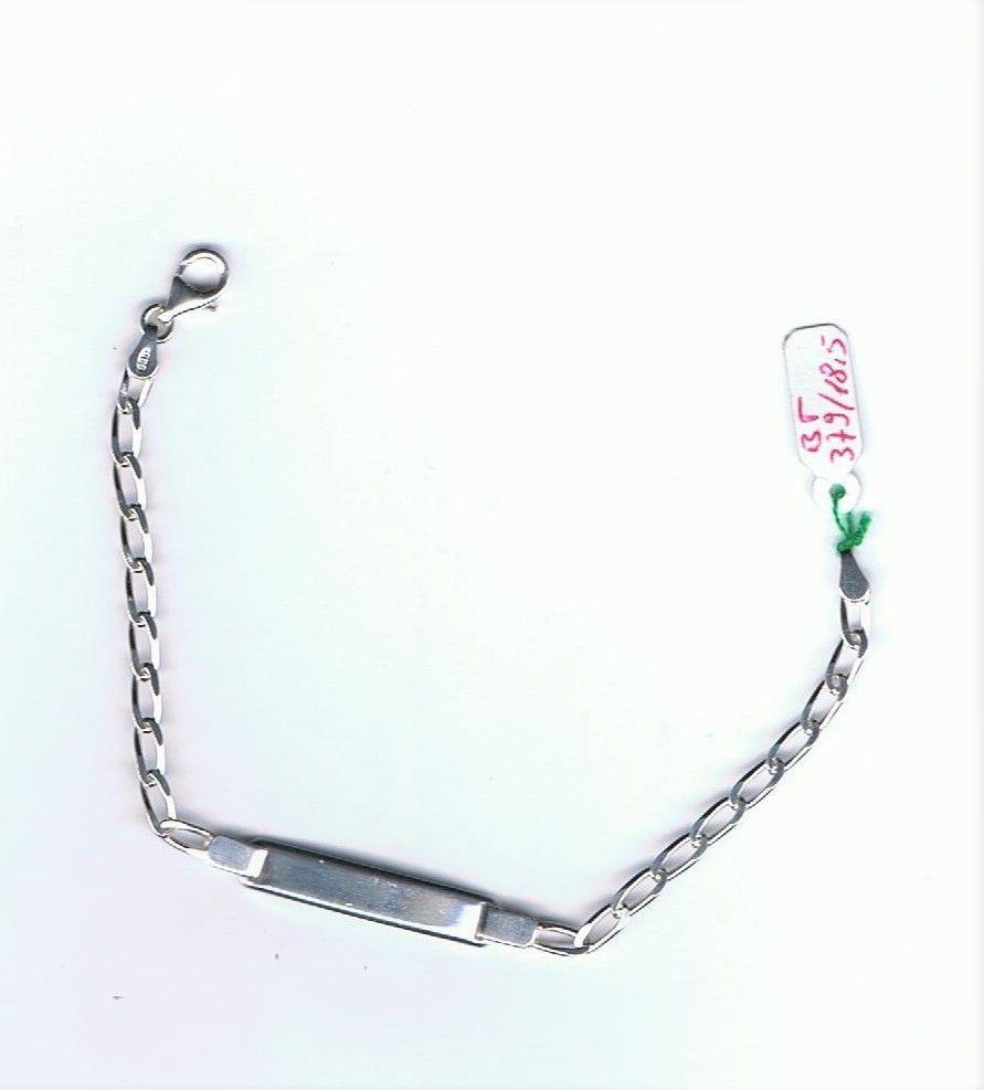 Silver bracciale targa ref. BT379/18,5