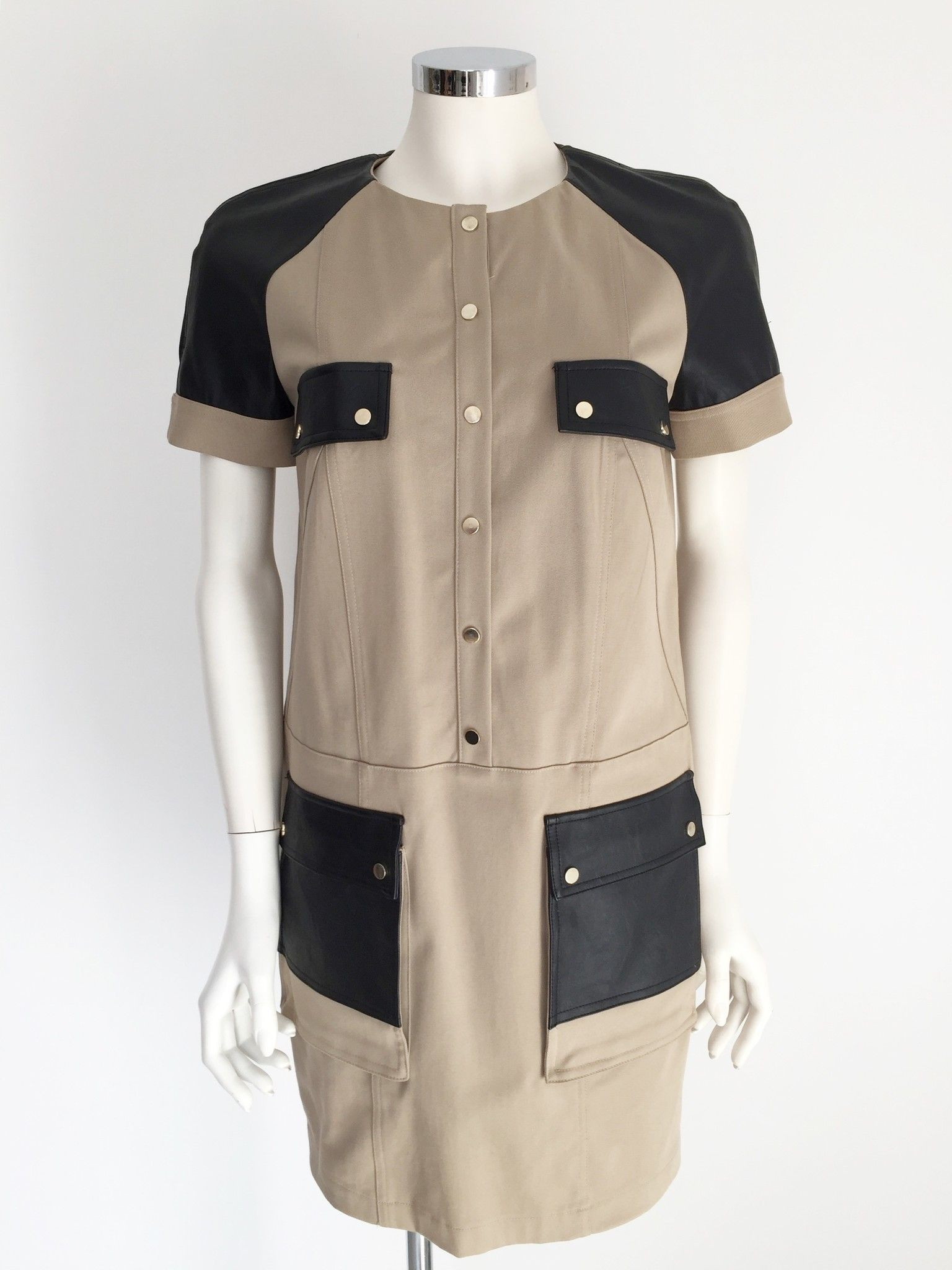 Violet Two-Tone Half sleeve dress Cod.IV903
