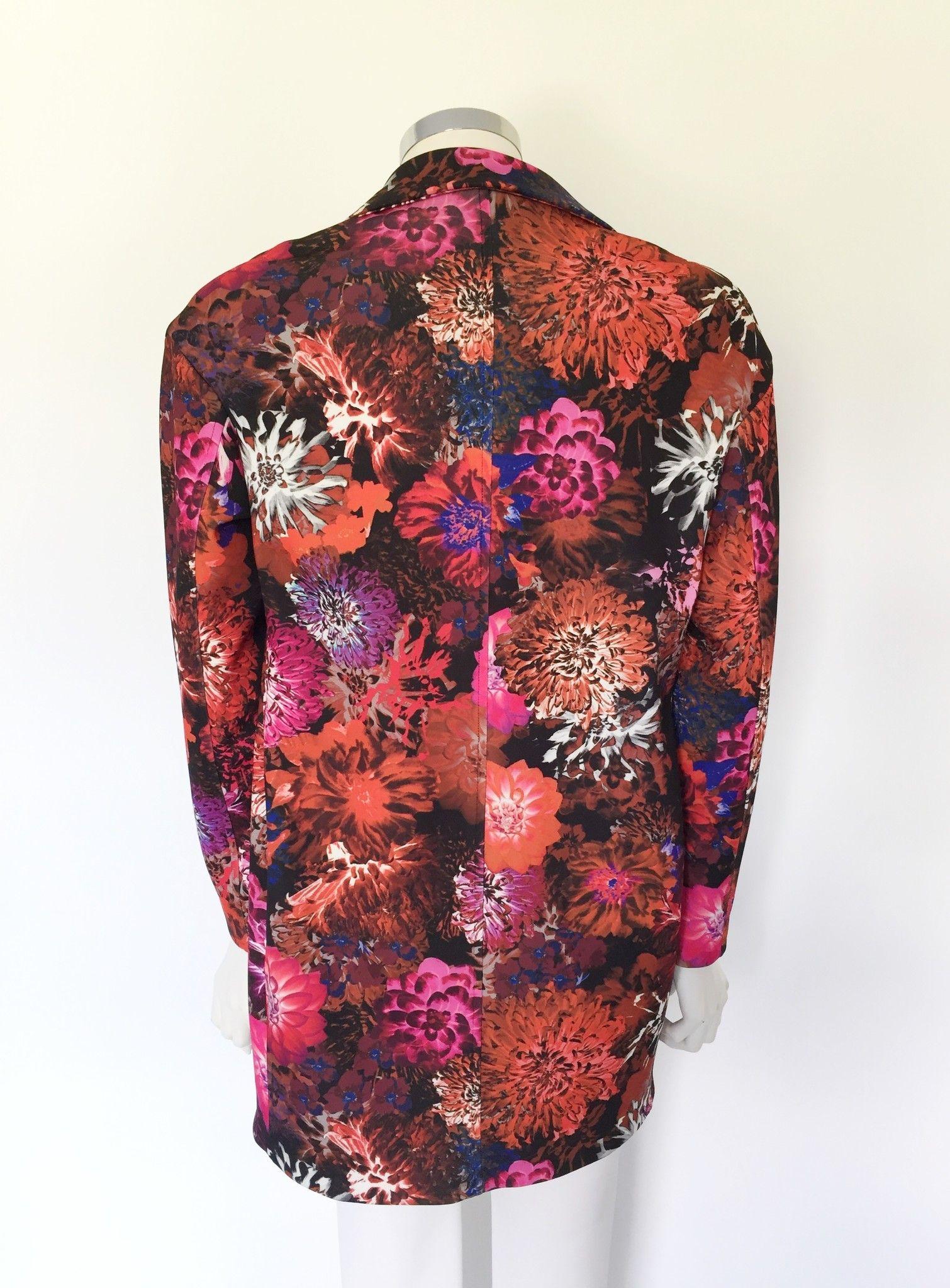 LadyBug Overcoat floral design Cod.117140