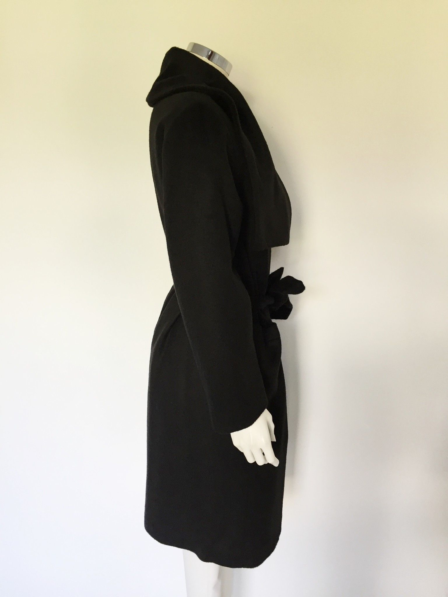 LadyBug Overcoat with wide neck medium length Cod.289