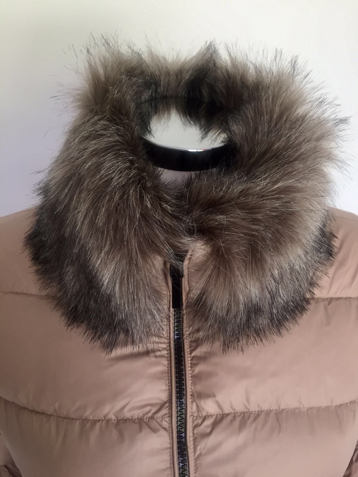 Space Faux fur trim jacket Cod.SA6P103