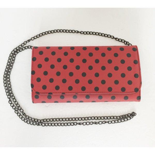 Pochette LadyBug a Pois con Tracolla in Metallo Cod.5624