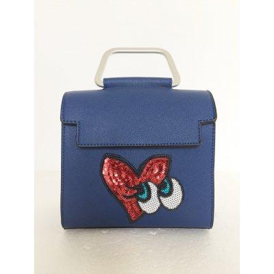 Mini Bag LadyBug Occhi Paillettes con Tracolla Cod.6161