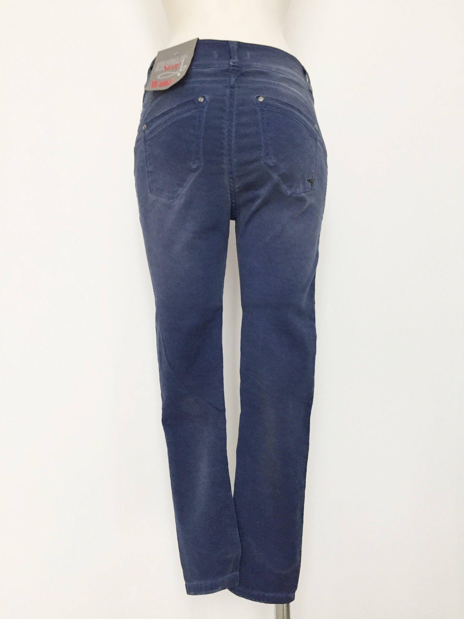 Sexy Woman Boyfriend Model Jeans Delavè Cod.P514705