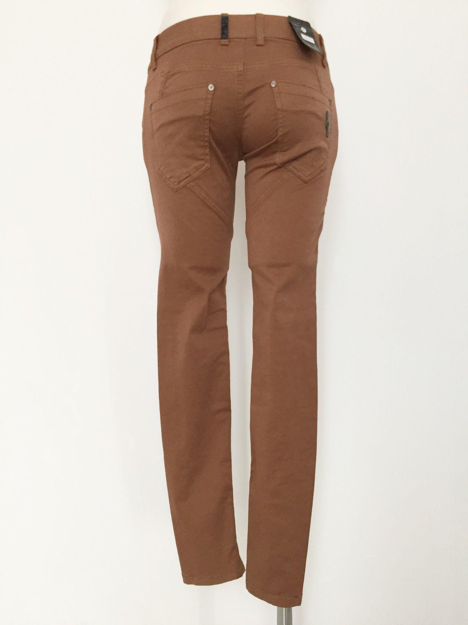 Jeans Sexy Woman Lungo Allacciatura con Bottoni Cod.P1148161