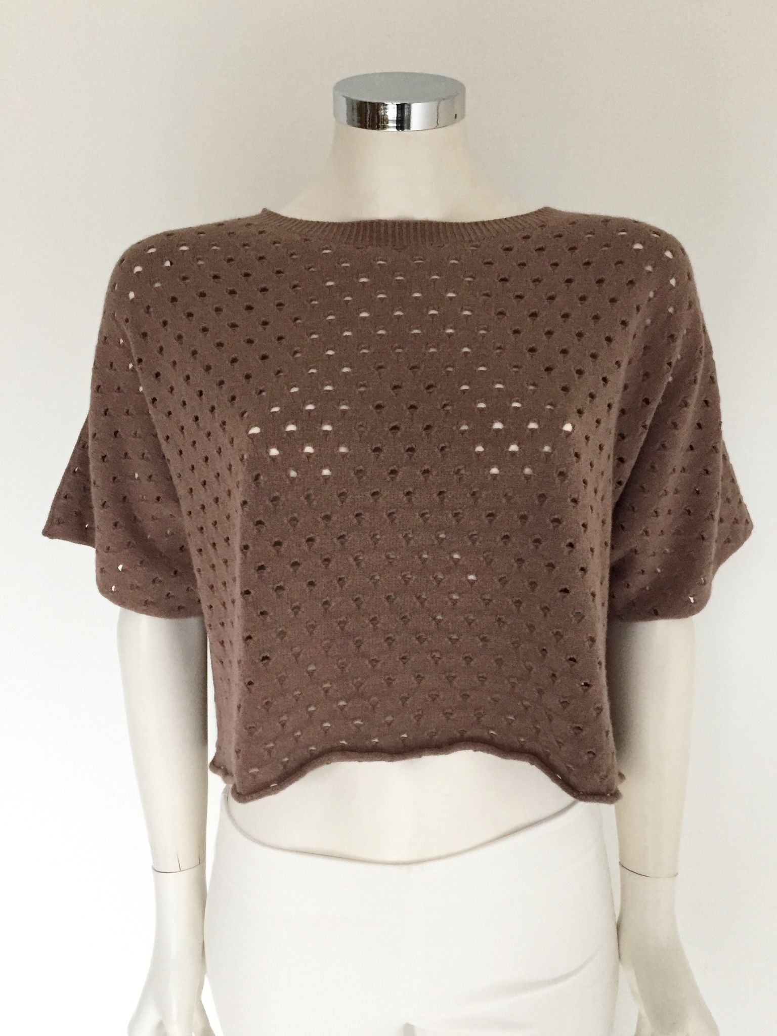 Sufè Short Crew-Neck Sweater Cod.SF942