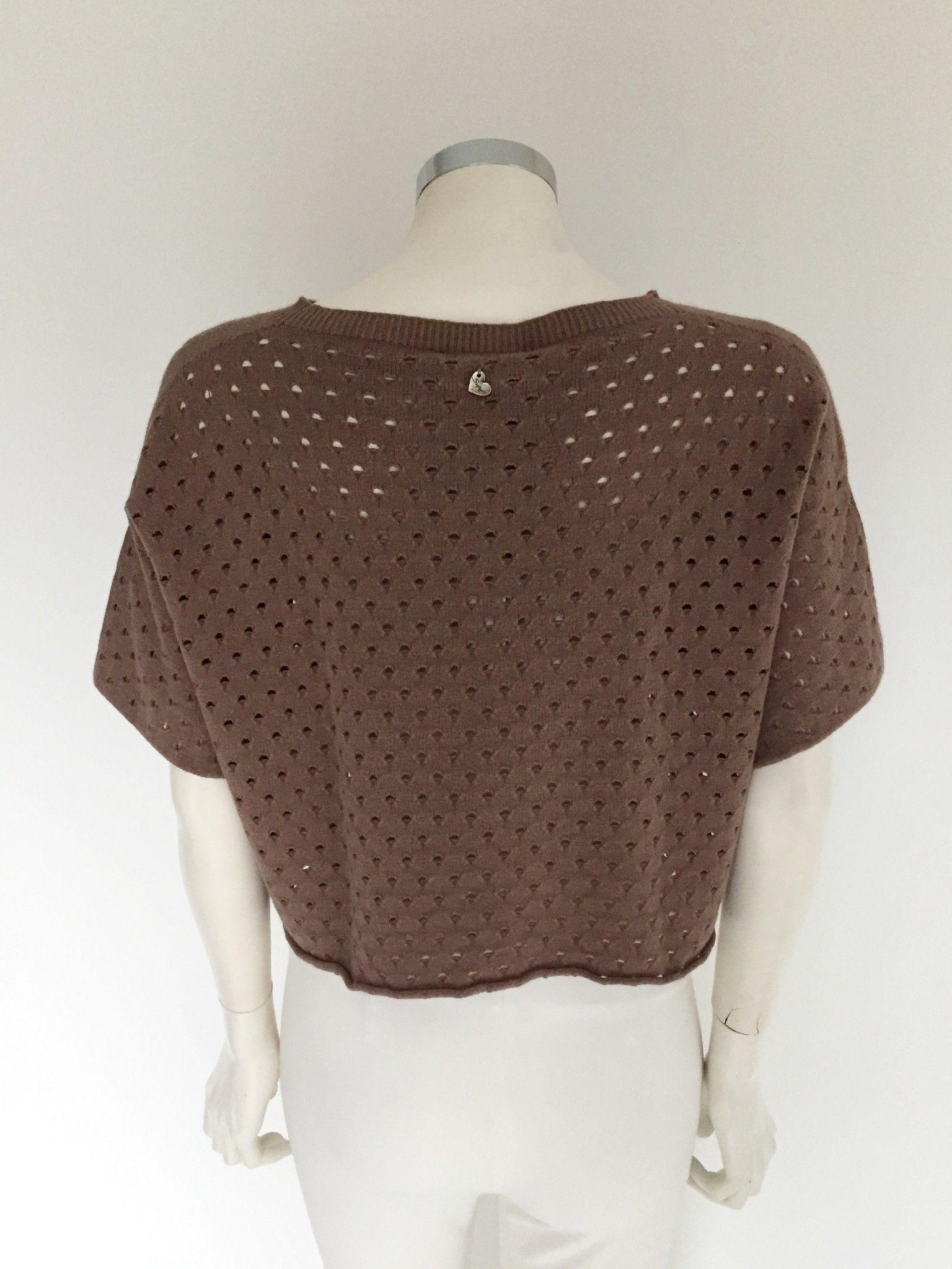 Sufè Short Crew-Neck Sweater Cod.SF942