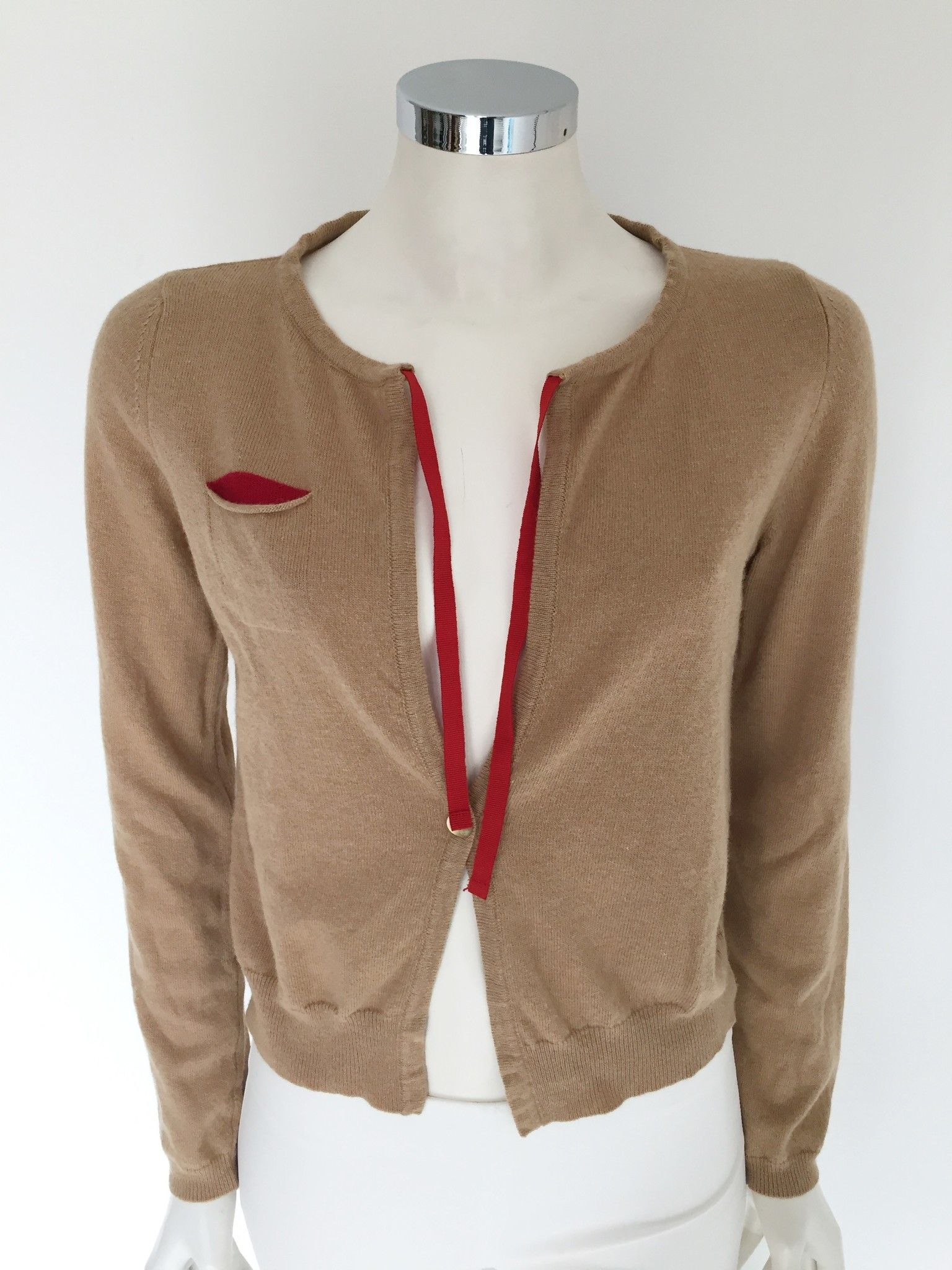 LadyBug 1 Button Short Cardigan Cod.7392