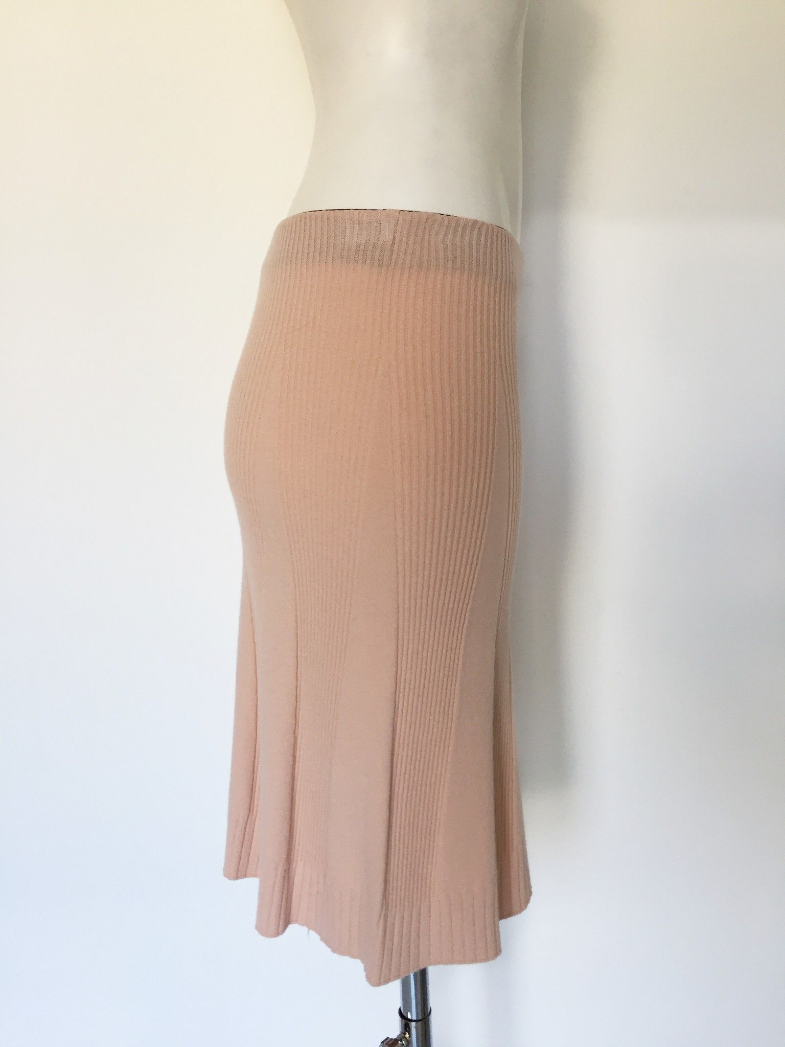 Mitika Long Flared Skirt Ribbed Fabric Cod.2326MI