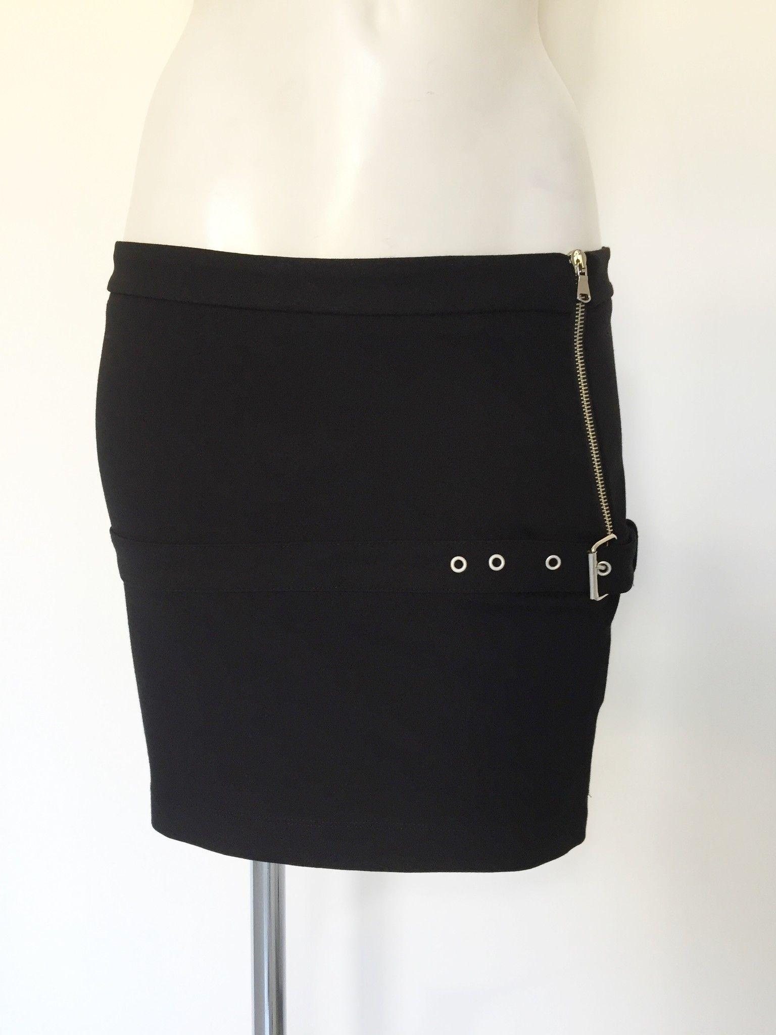LadyBug Miniskirt with Fastner and Zipper Cod.9668