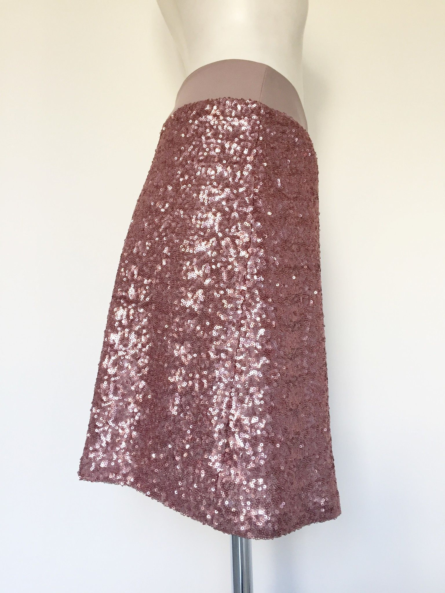 Manu Palmi Skirt with Paillettes Cod.E158