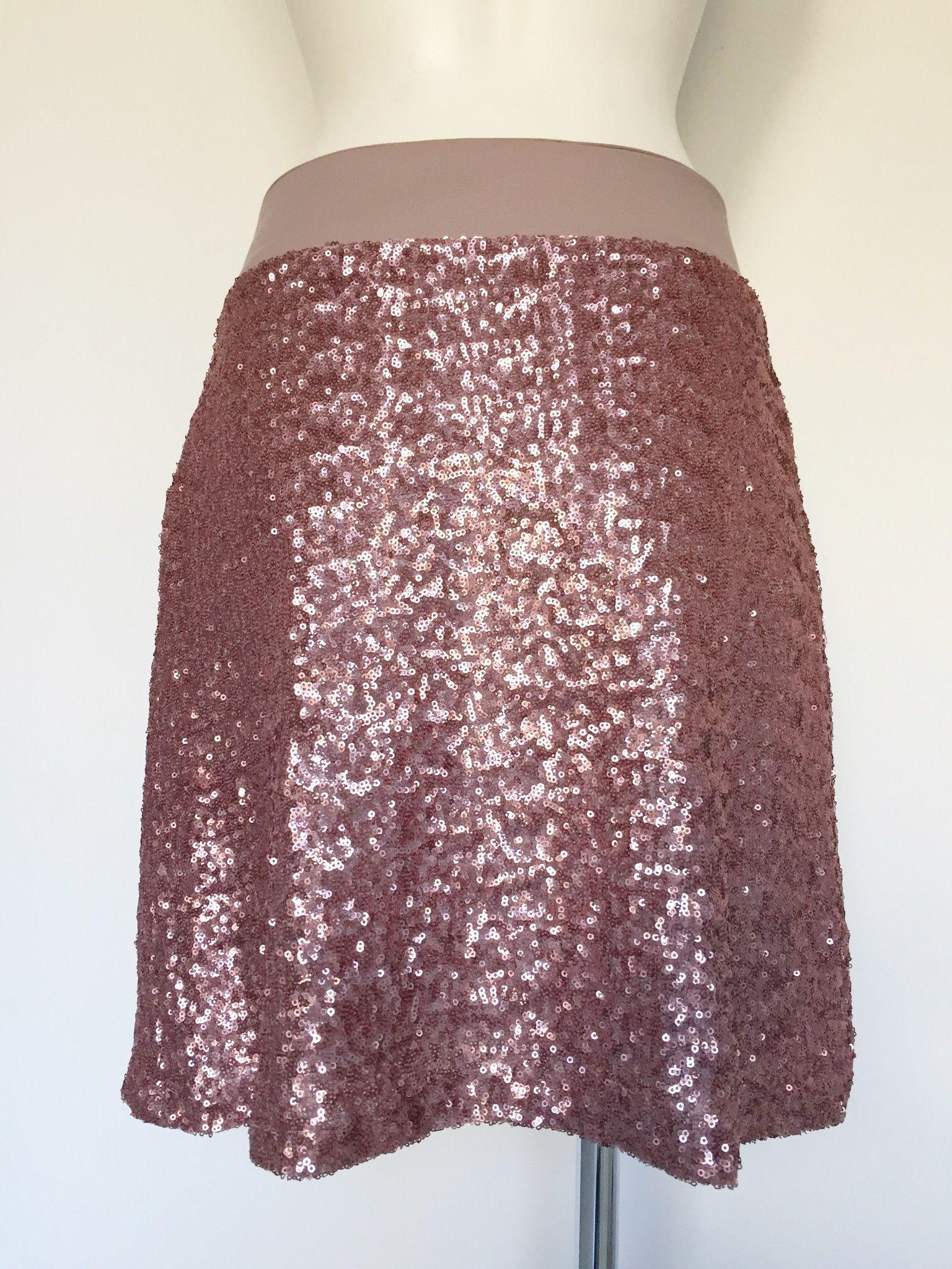 Manu Palmi Skirt with Paillettes Cod.E158