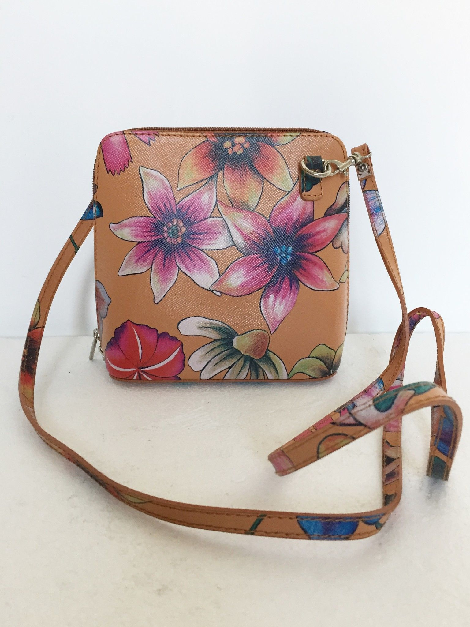 LadyBug mini shoulder bag in floral design Cod.0102