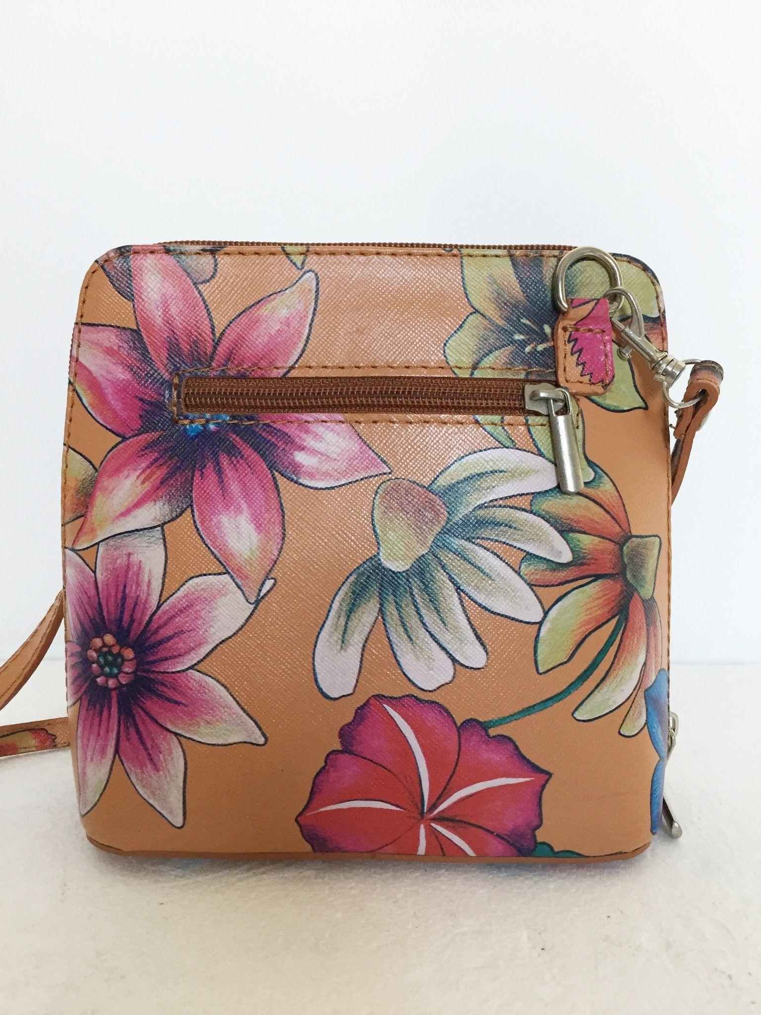 LadyBug mini shoulder bag in floral design Cod.0102