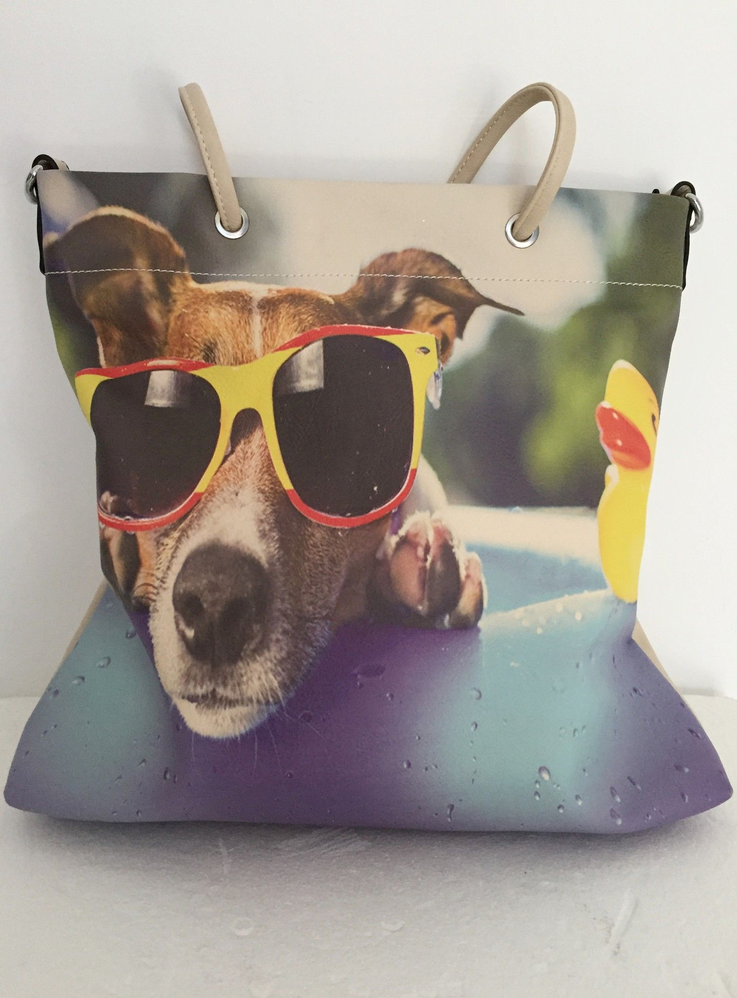 LadyBug Bag Dog Print Cod.0106