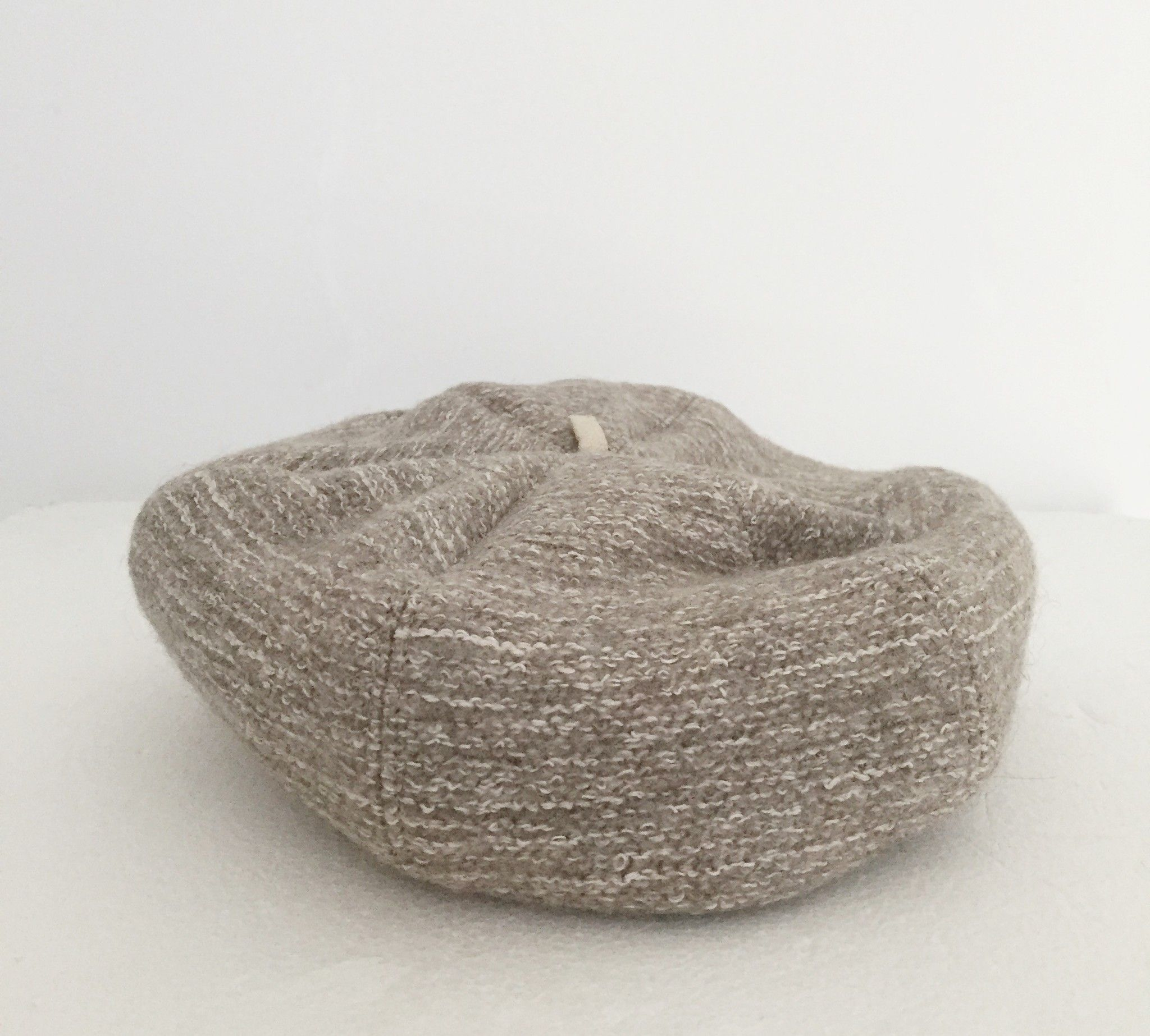 Alysi Boiled wool hat with Buttons Cod.0012