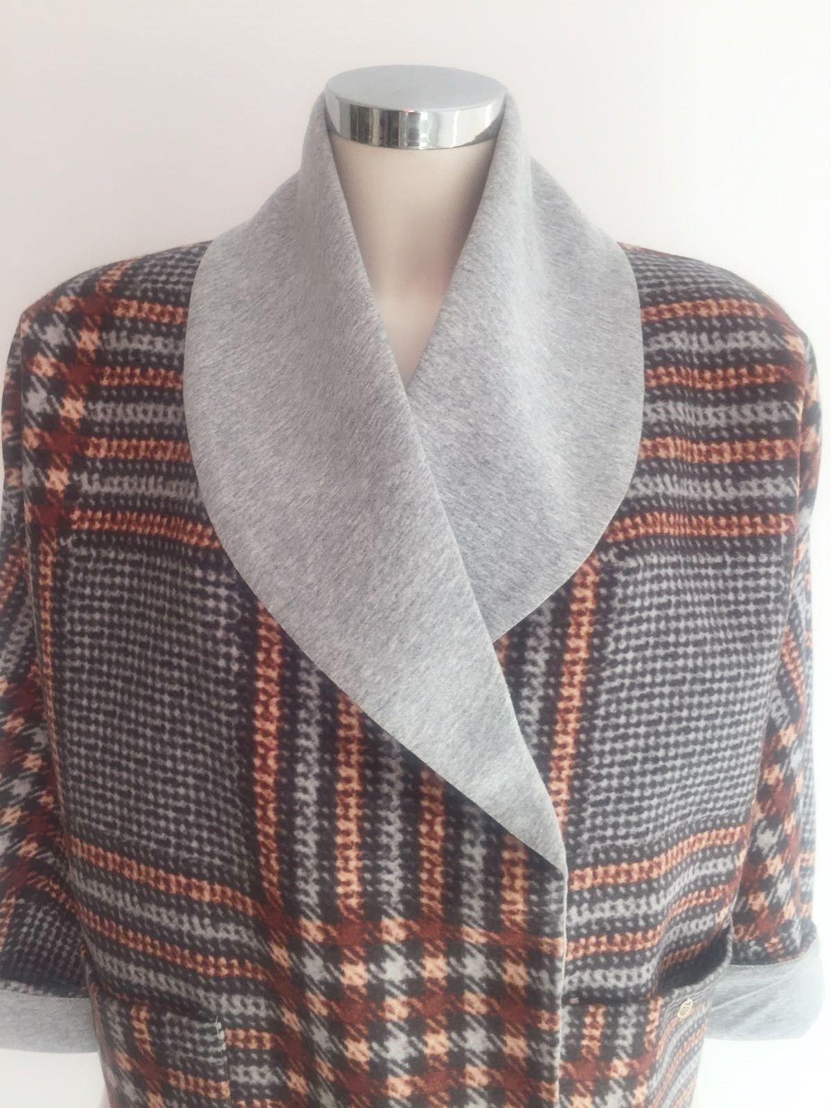 Roberta Biagi Double breasted jacket Madras Cod.CAP0207