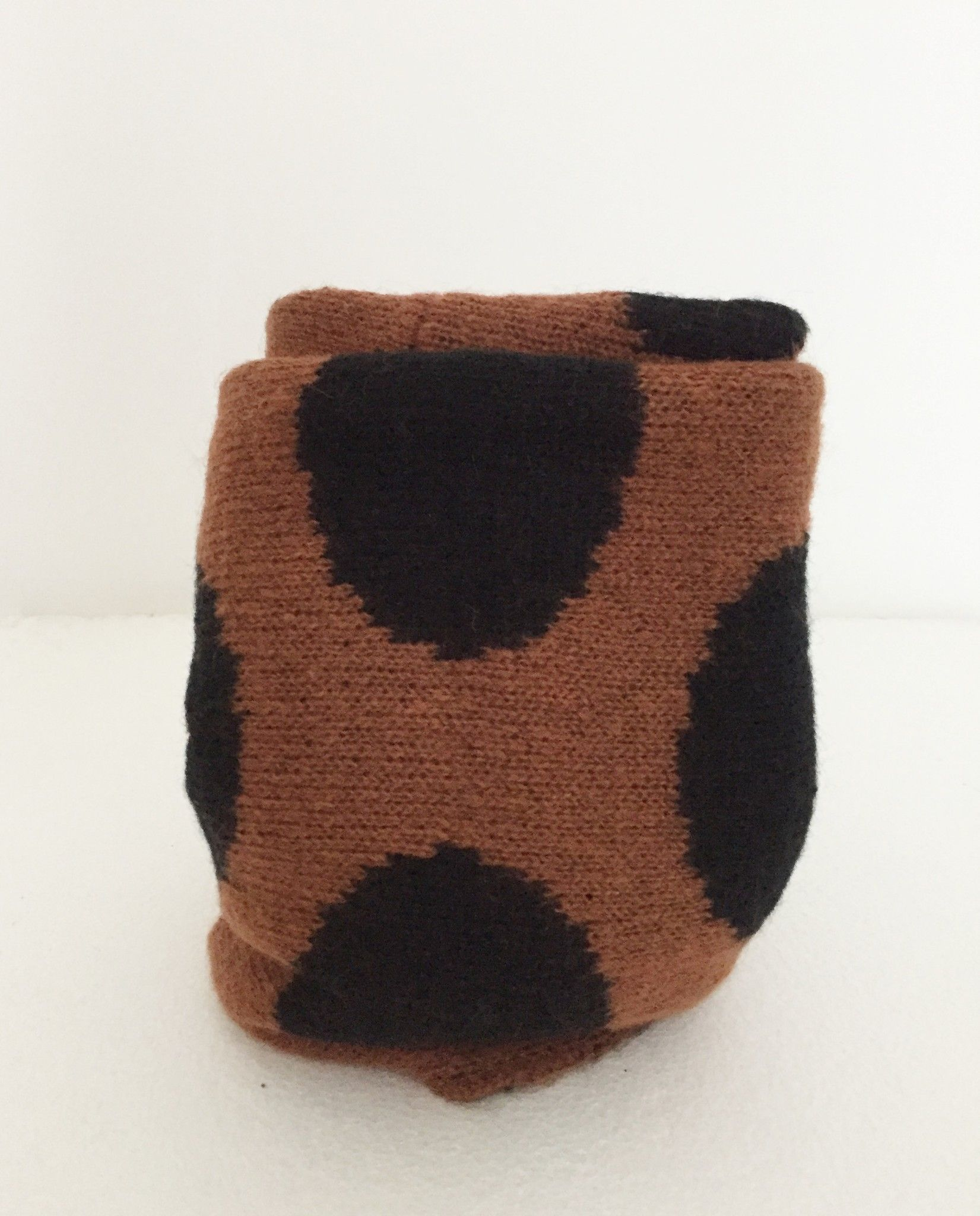 LadyBug Wool cowl neck pois Cod.7064S