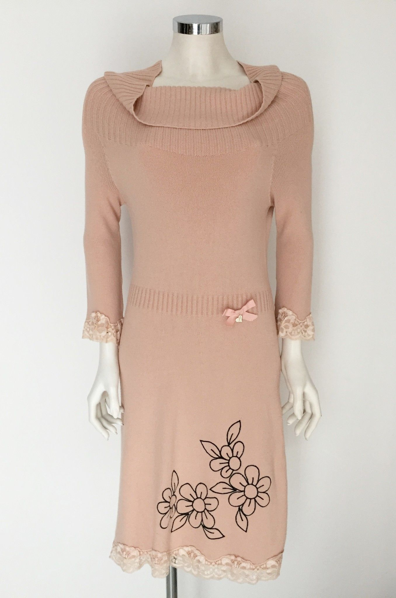 Mitika 3/4 Sleeve knit dress Cod.2301MI