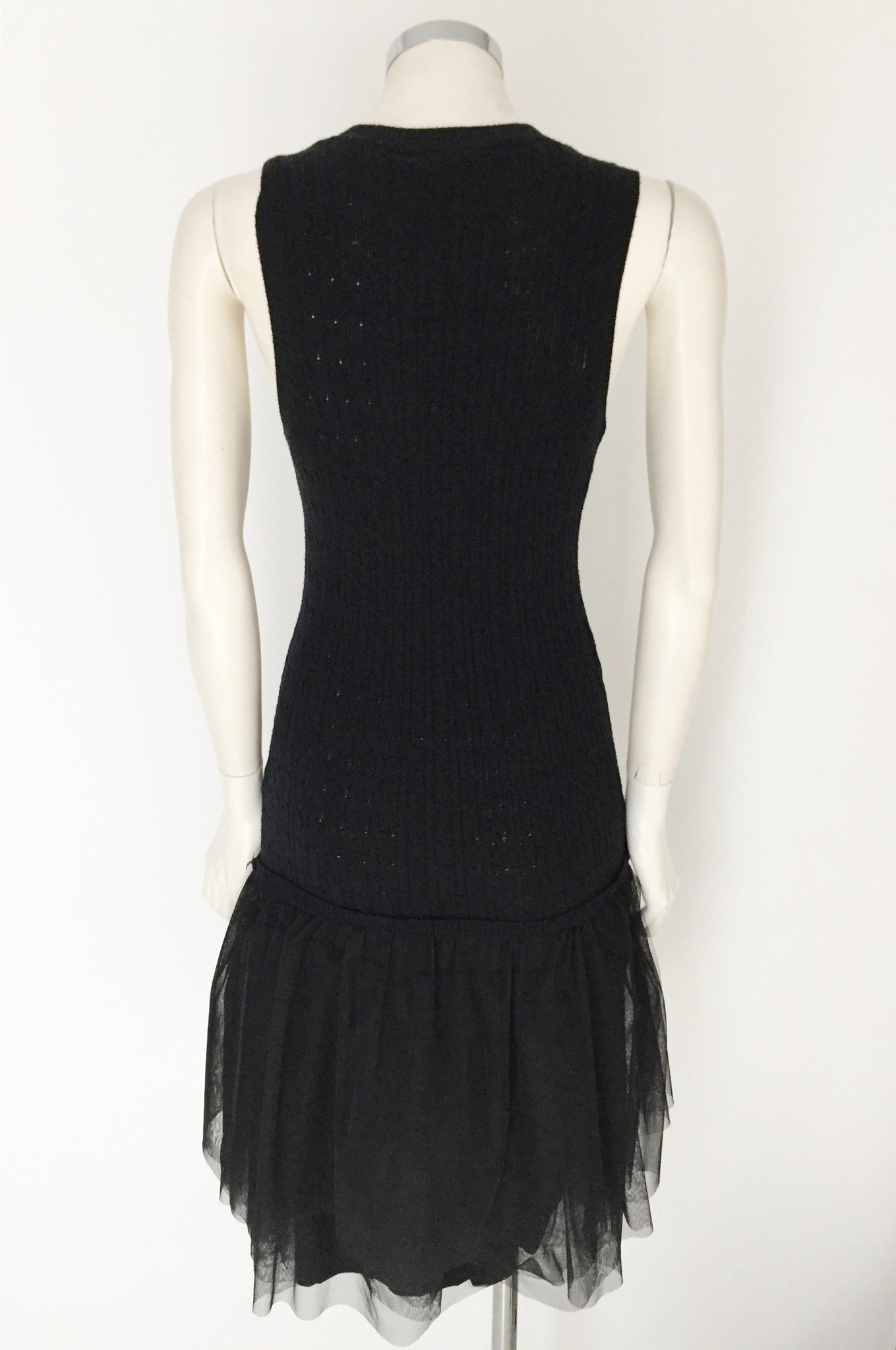 Gil Santucci Wool dress with Skirt and Paillettes Cod.S200