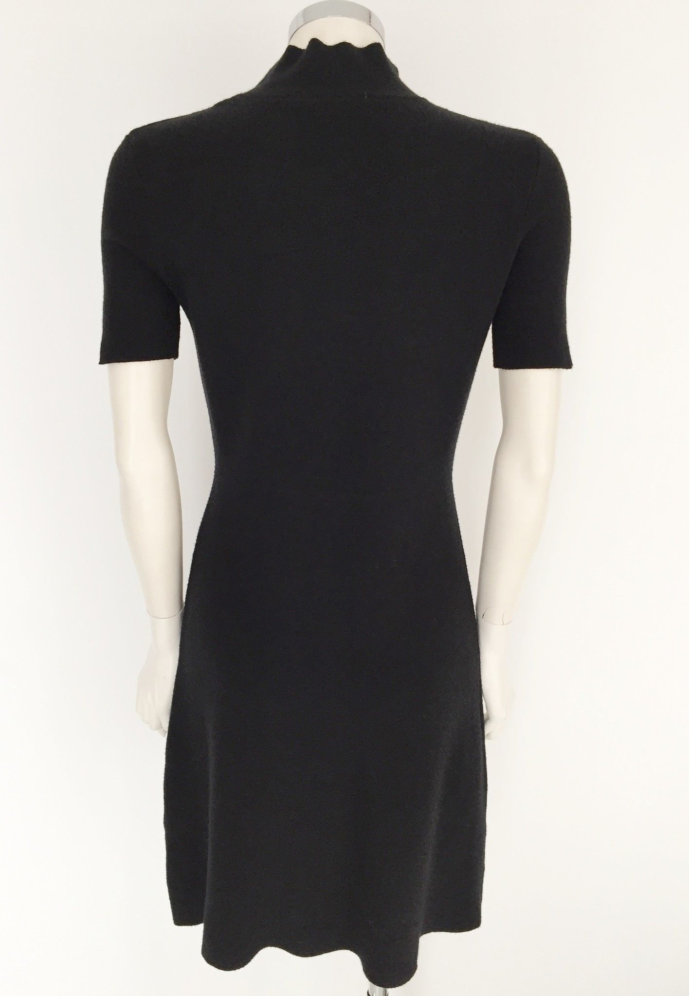 Sandro Ferrone Short sleeve dress with high neck Cod.C7I7