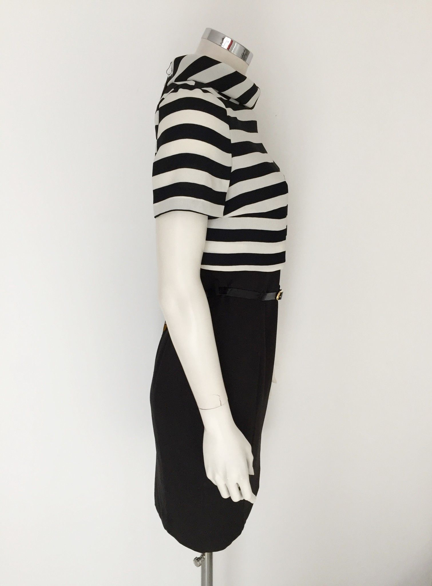 LadyBug Half sleeve striped dress Cod.3320