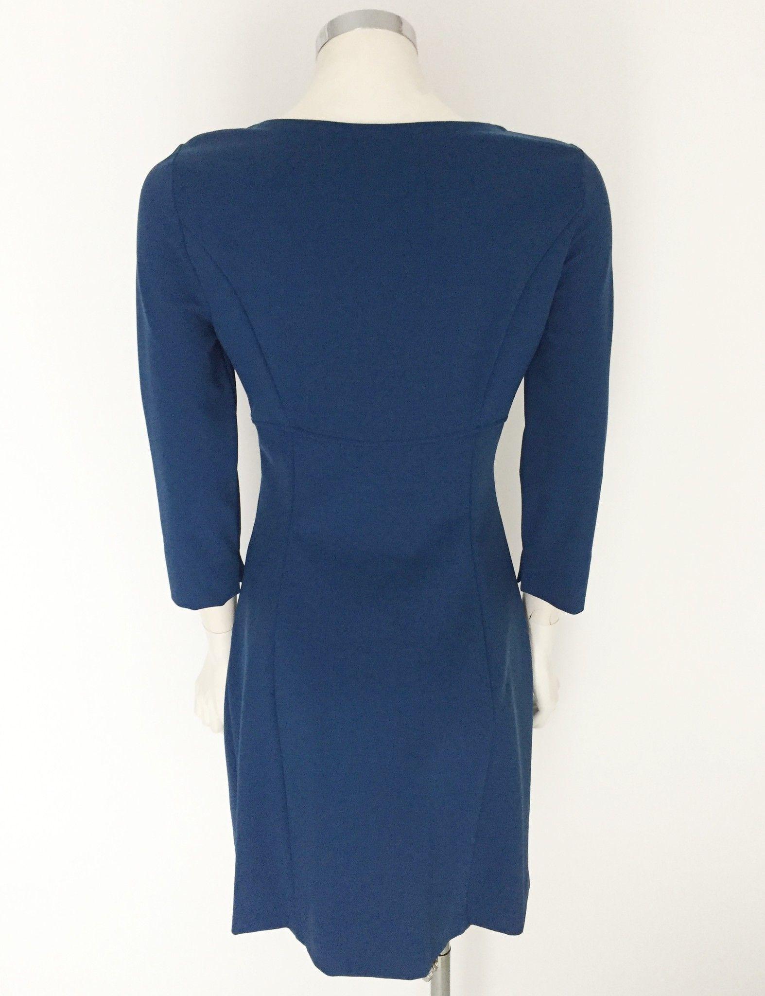 Flavio Castellani 3/4 Sleeve round neck dress Cod.I1CA