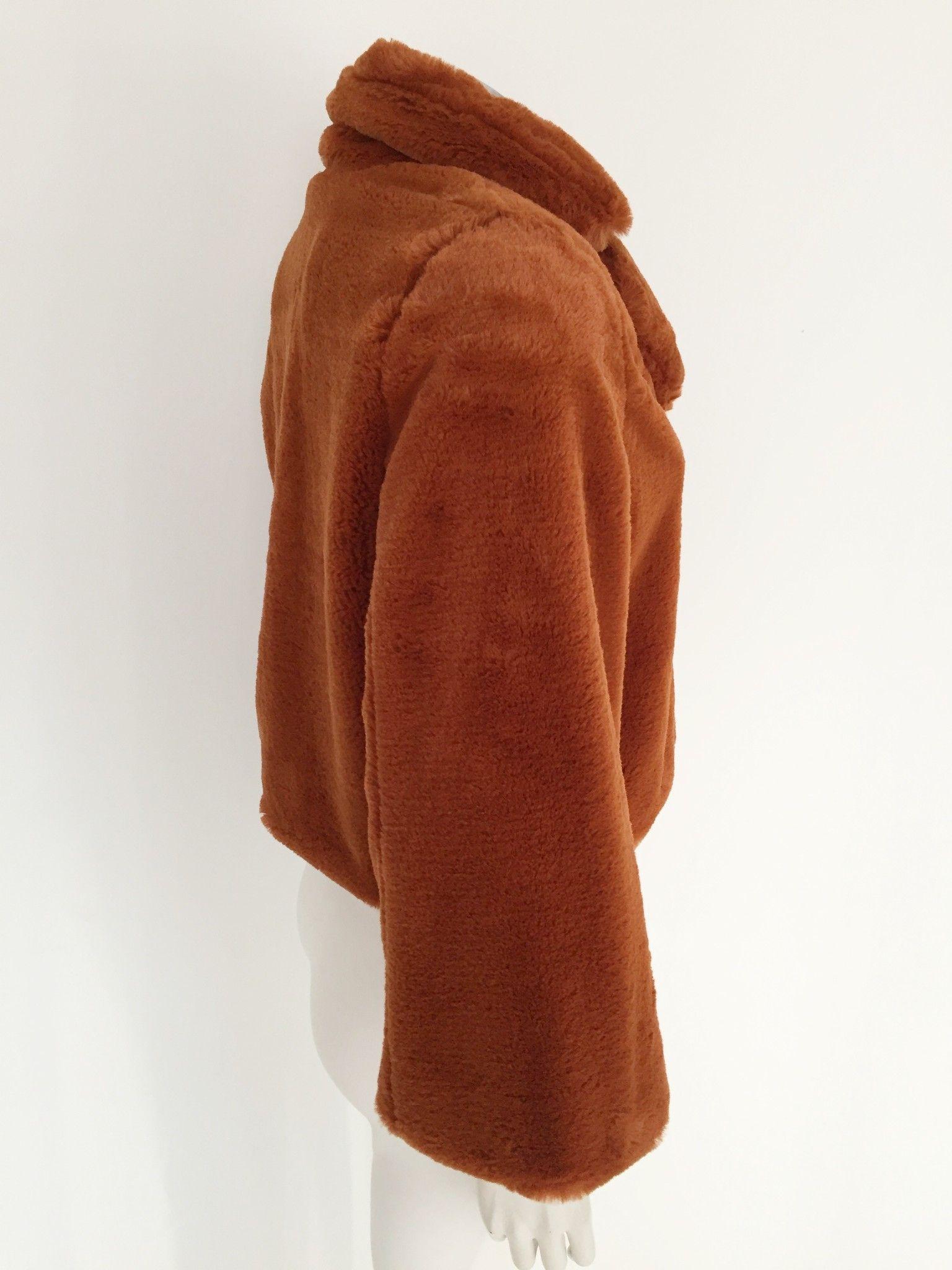 LadyBug Faux fur jacket Cod.2065P