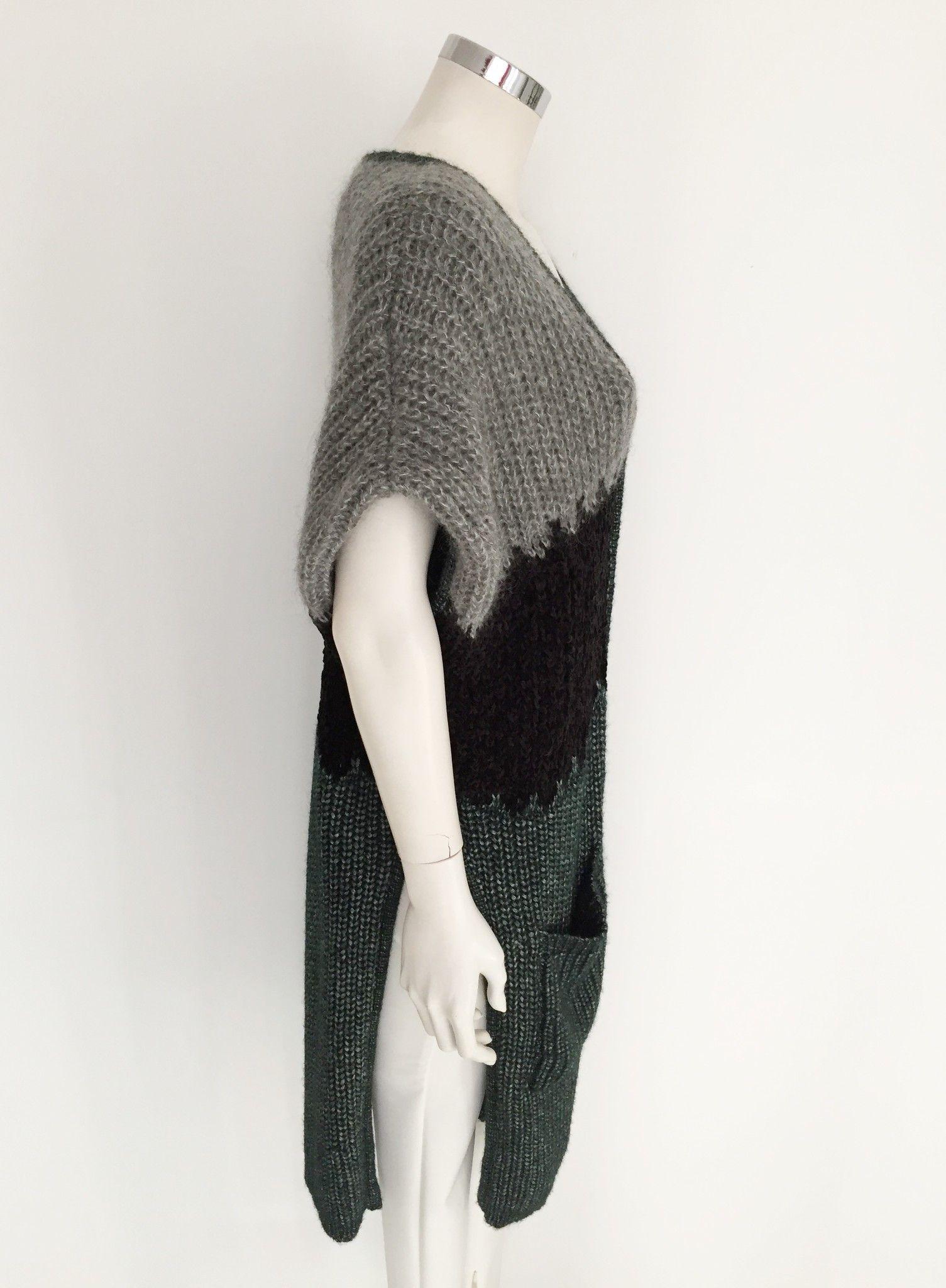 Atos Lombardini Waistcoat Thick Wool Cod.15IV804