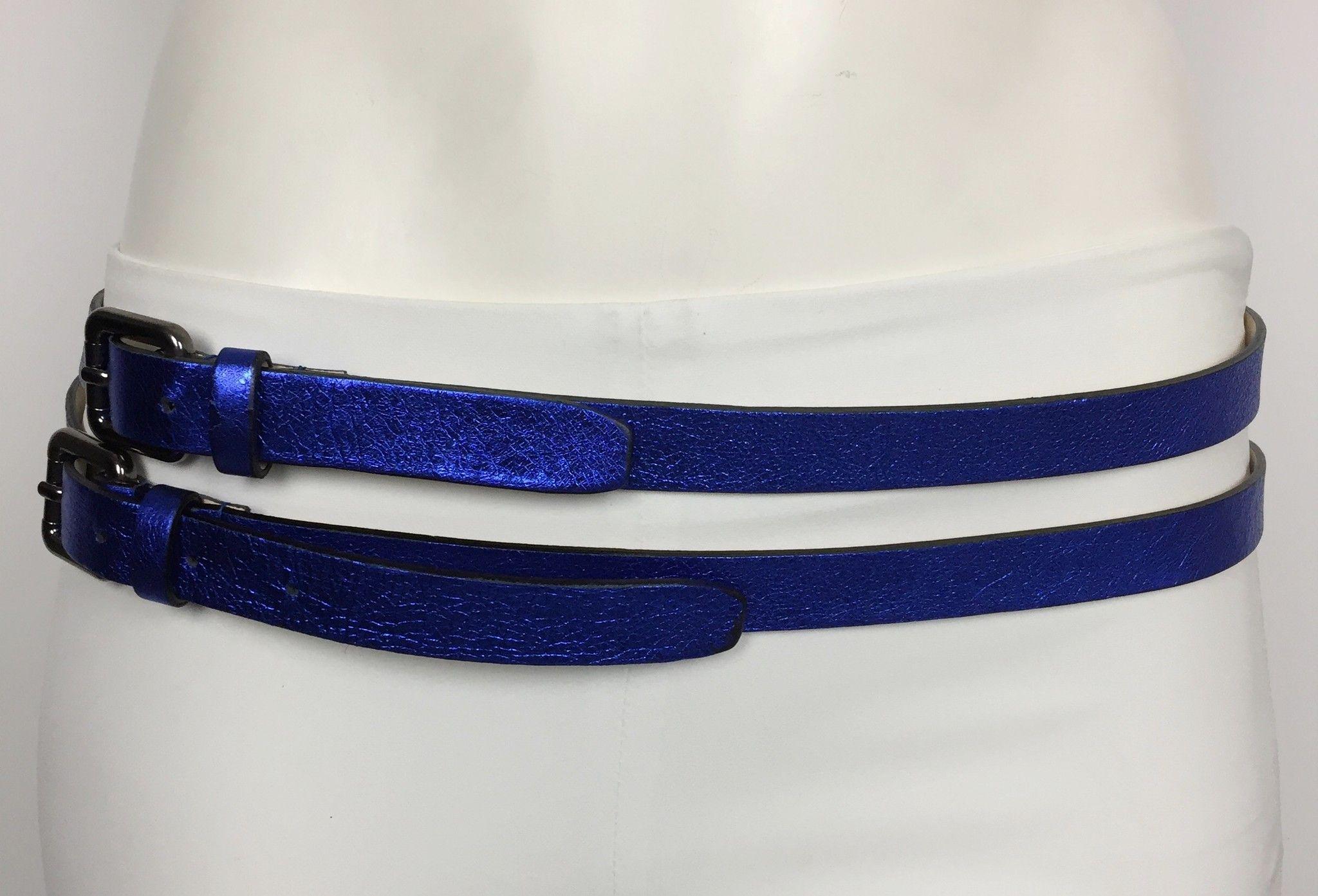 Namastè Double Buckle Belt Cod.85200