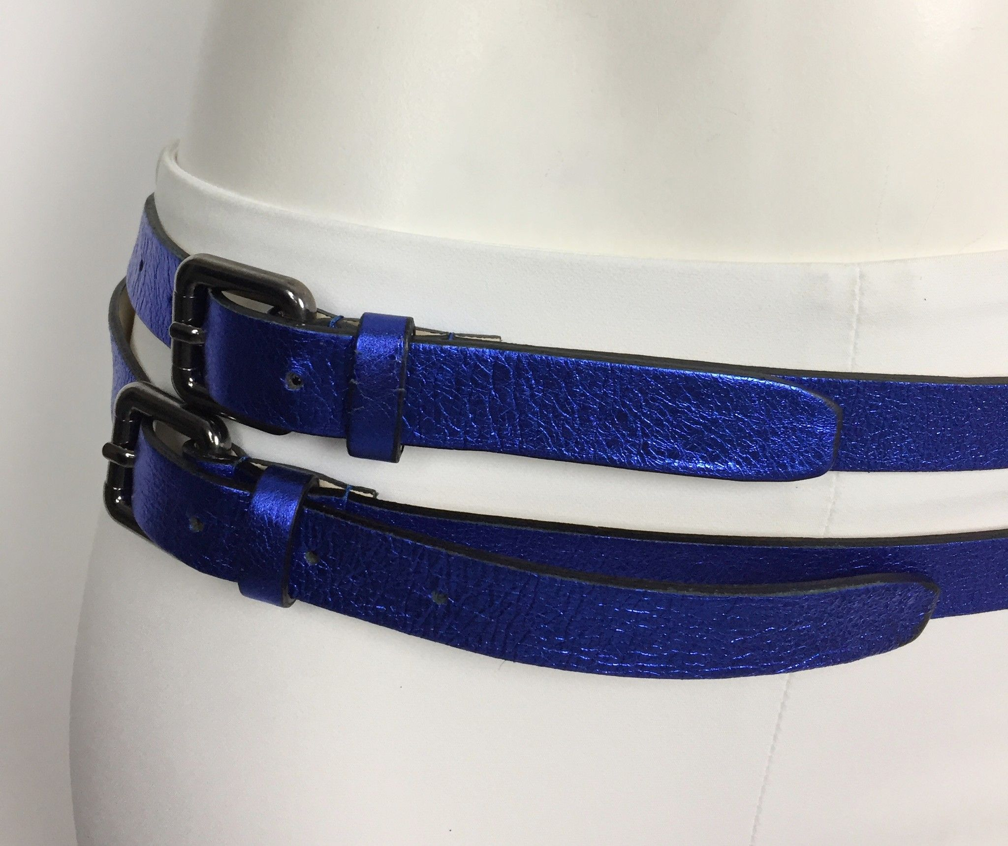 Namastè Double Buckle Belt Cod.85200