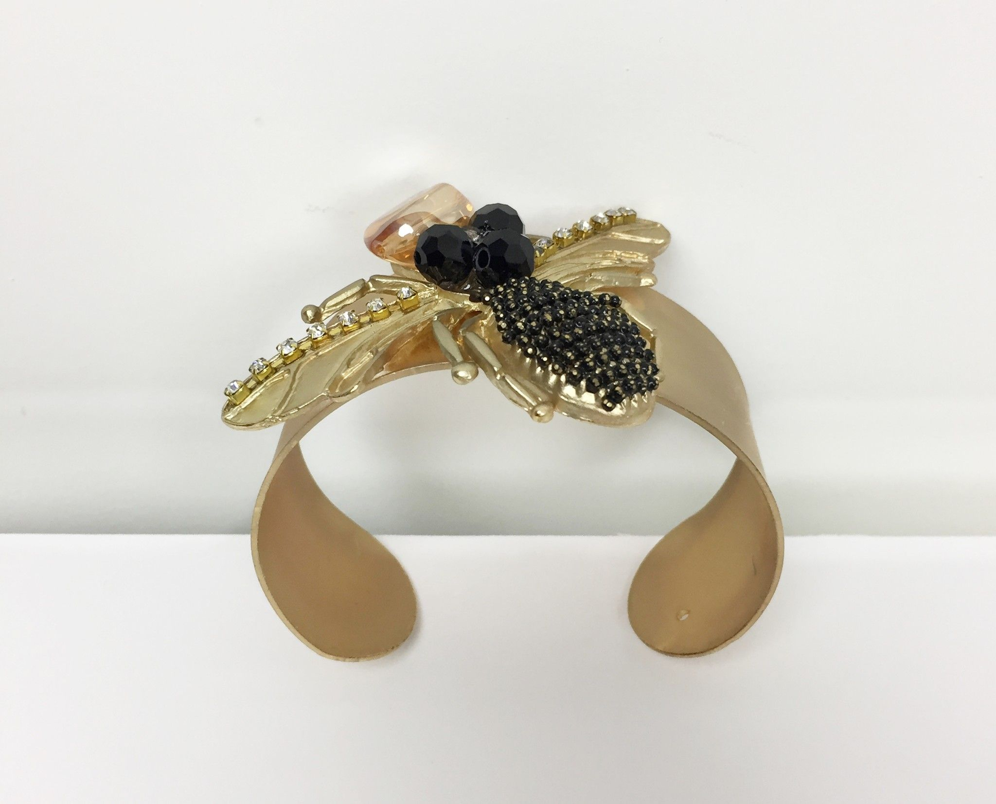 Atos Lombardini Golden Bracelet with Bee Applied Cod.1159452