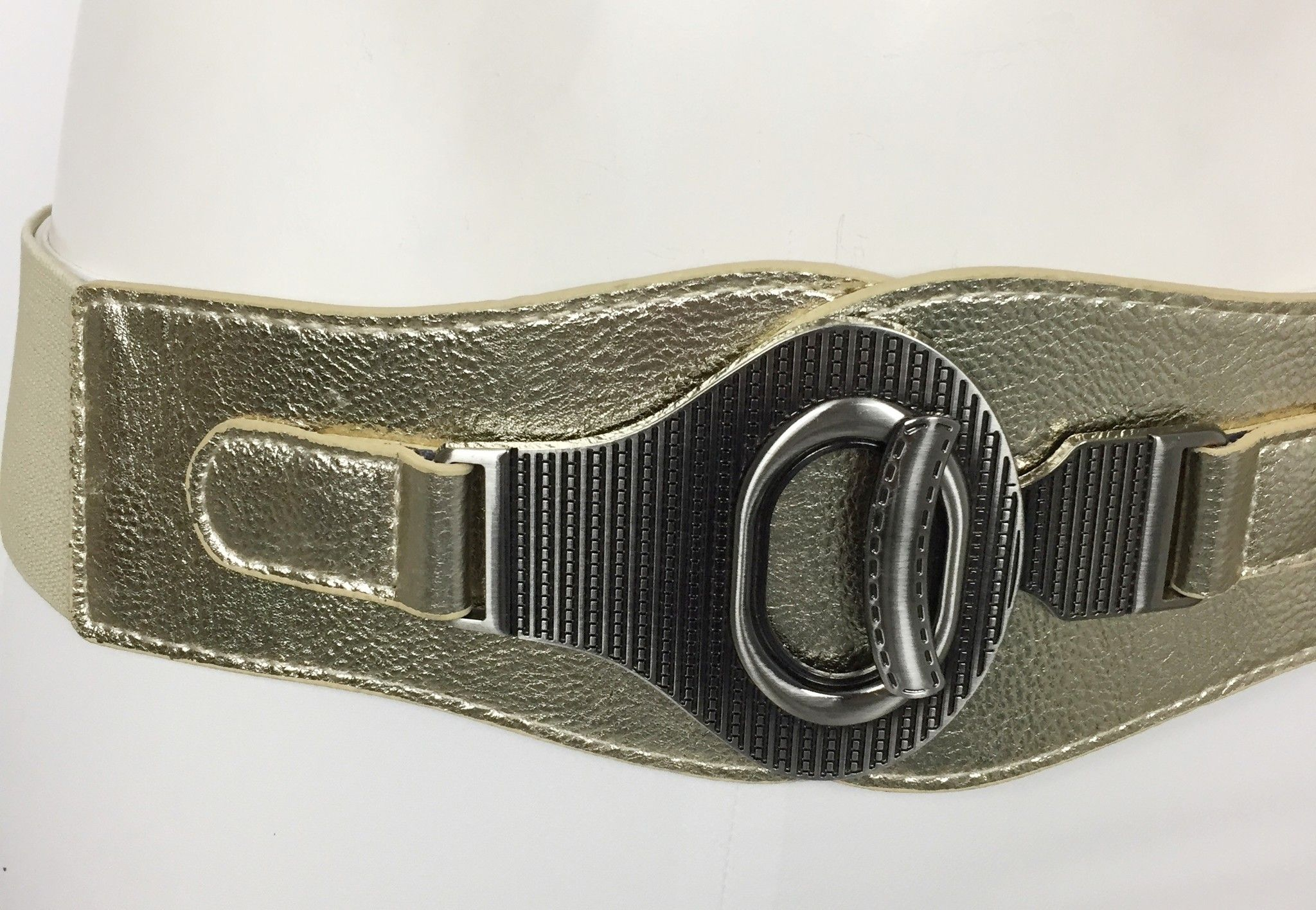 Space Elastic Belt with Gold Trim Cod.8746296
