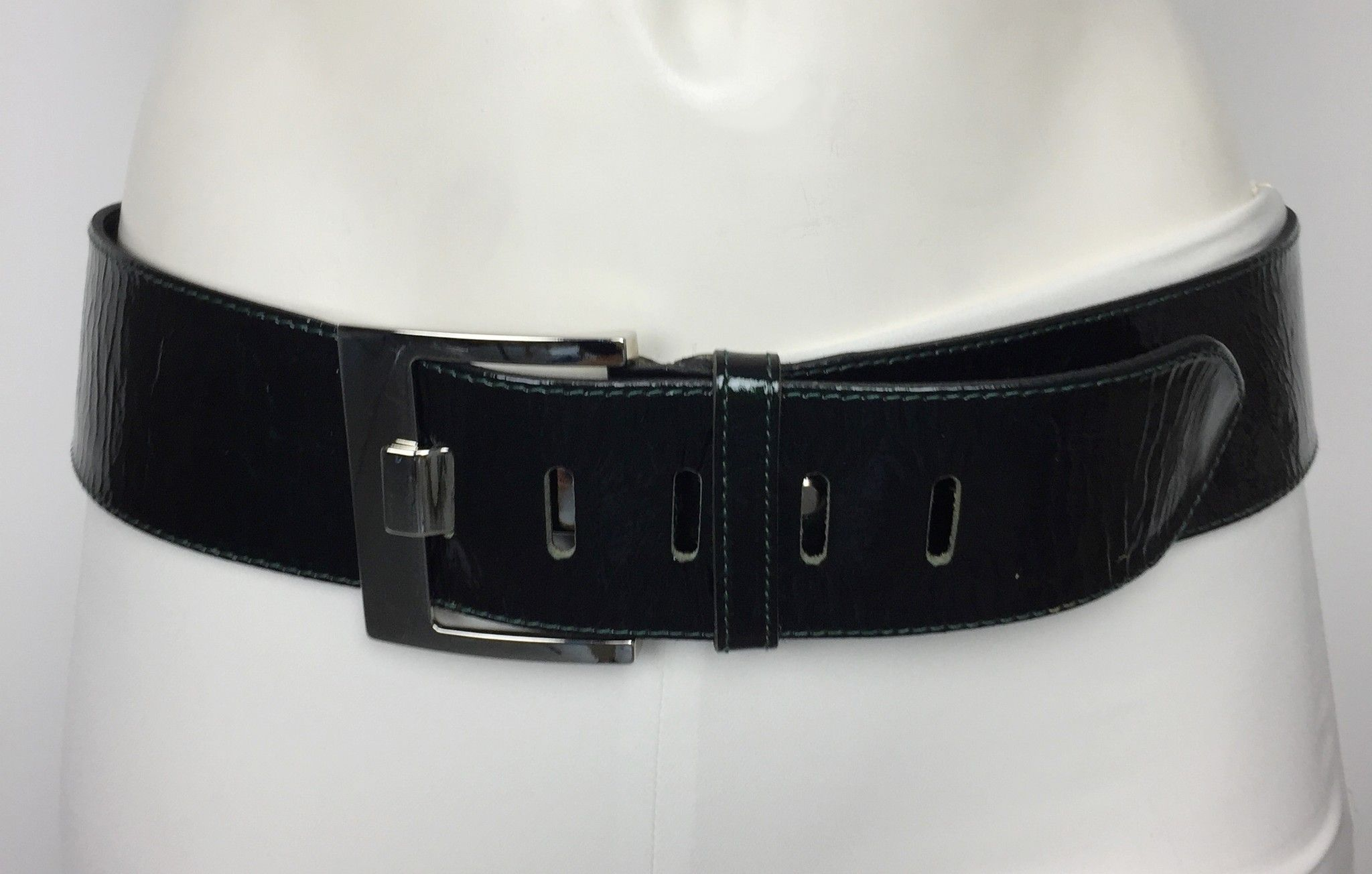 LadyBug Leather Belt with Stainless Steel Buckle Cod.9845